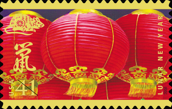 纪念即将到来的中国农历鼠年图片