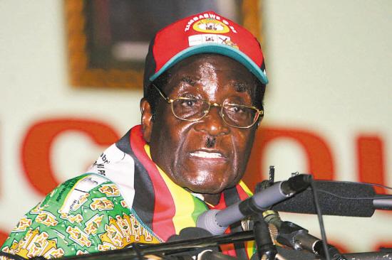 津巴布韦总统罗伯特·穆加贝