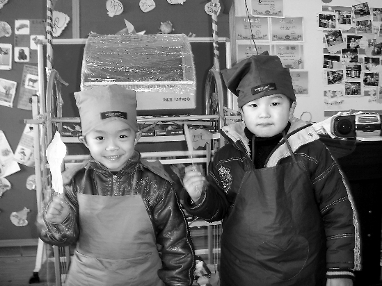 """昨天,由杭州市下城区教育局组织的""""民办幼儿园角色游戏展示高清图片"""