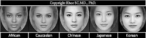 朝鲜日报:全球美女标准脸型各不同