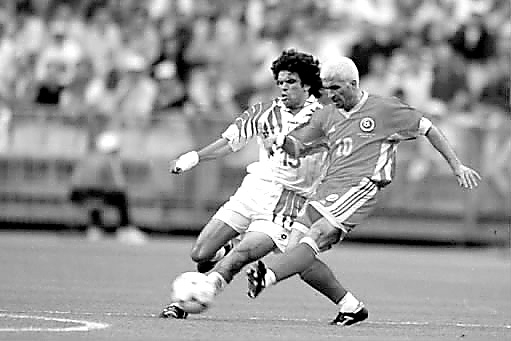 1998年世界杯哈吉一头黄发