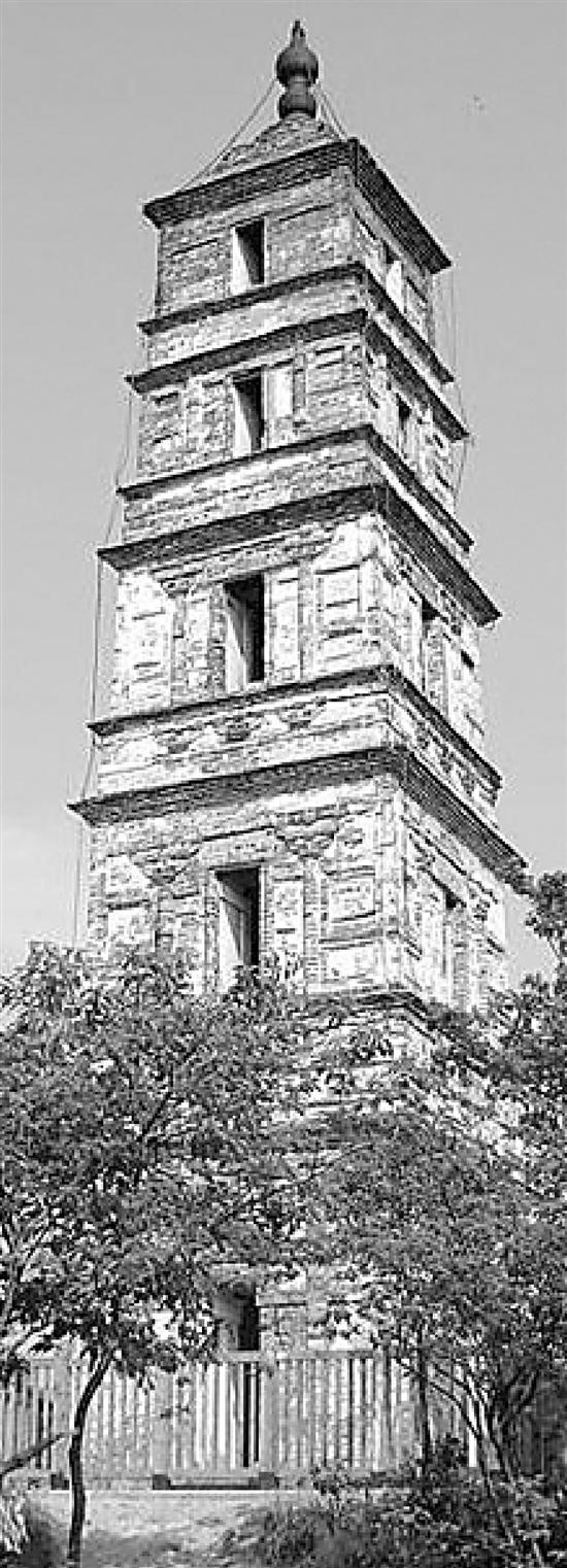 塔身污损围栏破败 全国文保单位临安功臣塔将整改