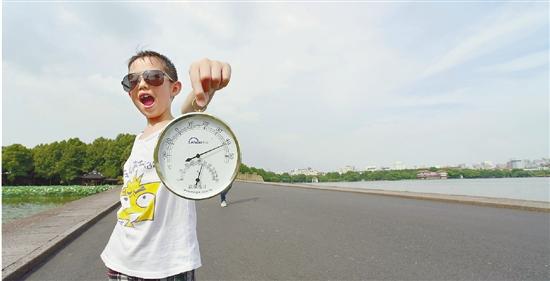 杭州发布今年首个高温橙色预警